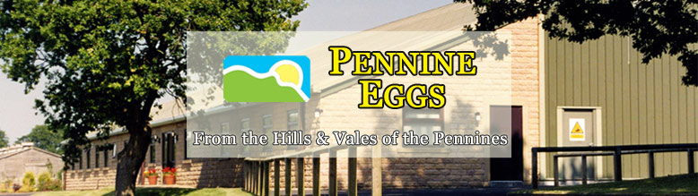 pennine eggs by rainfords, lancashire, north west england